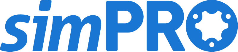 Computerised accountancy, simPRO
